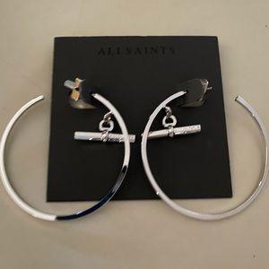 All Saints Hoop Earrings
